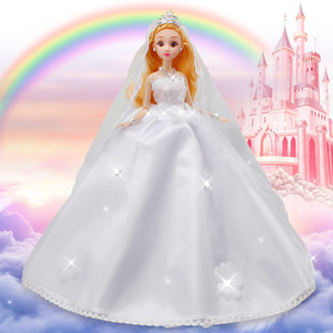 Barbie Doll Set Wedding Dress