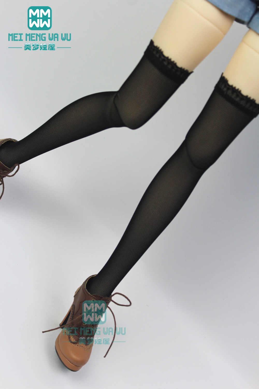 อุปกรณ์เสริมสำหรับตุ๊กตา Fit 1/6 1/4 1/3 BJD YOSD MYOU SD13 MSD SD14 ตุ๊กตาลายกลางขาถุงเท้า,กางเกงขาสั้นขายาวถุงน่อง