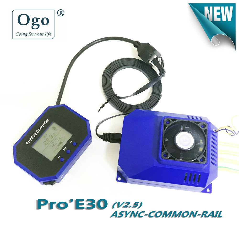 OGO PRO'E30 INTELLIGENT LCD PWM dynamic working with Engine HHO saving fuels