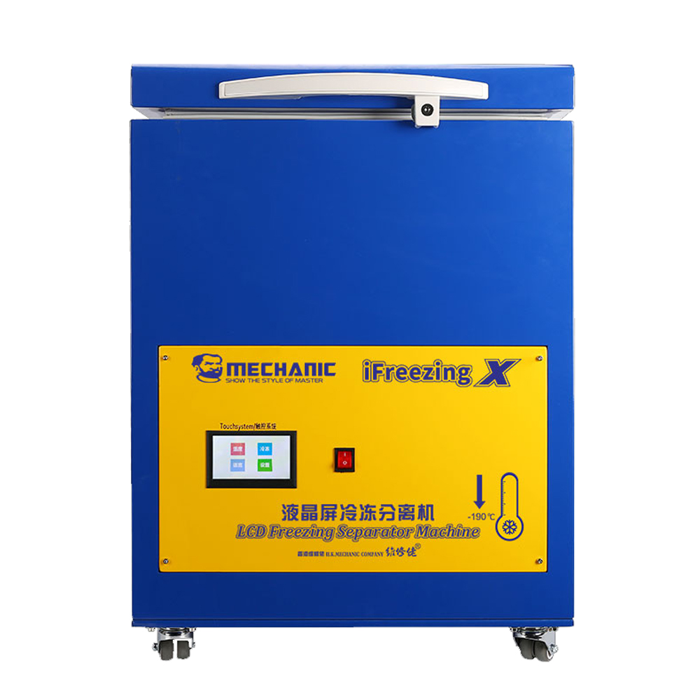 MECHANIC-190°C LCD Touch Screen Freezing Separator Machine  Curved Panel Freeze Separator For Full All Phone Burst Screen Repair