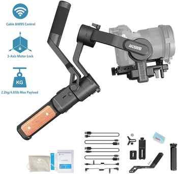 FeiyuTech Feiyu AK2000S Estabilizador para cámara DSLR de 3 ejes cardán mano vídeo Estabilizador para Sony Canon 5D Panasonic GH5 Nikon