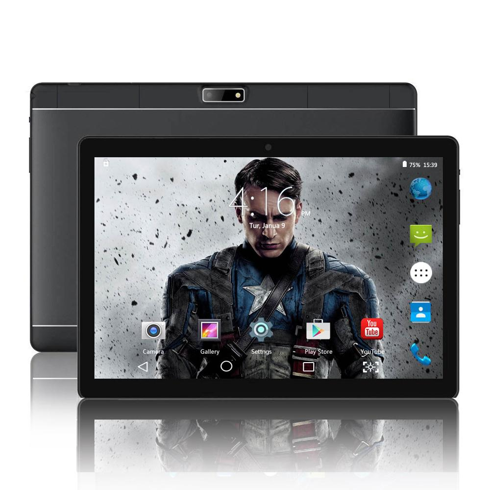 ZKT1002 10.1 Inch Tablet Pc Android Tablet 1280*800 IPS 2GB+32GB Dual SIM 3G Tablet Quad Core Android 7.0 WiFi Tablets 10.1