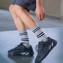 1 пара мужских носков хлопковые новые модные спортивные уличные
