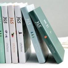 Agenda planificador 365 cuaderno ilustración de página interior colorida Plan diario anual Registro Diario vida escuela regalo de oficina estacionario