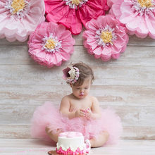 1Pcs Lovely Baby Boy Girl First Birthday Hat Gold Pink Princess Crown Cap kids Number 1st 2 3 Year Old Party Hat Headband(China)
