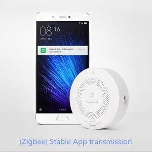 Image 4 - Oryginalny Xiaomi Mijia Honeywell detektor gazu Zigbee Control Mi inteligentne zestawy do domu czujnik pracy dla Xiaomi Hub Gateway 3