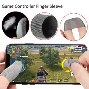 Finger-Gloves Sleeve Games Touch-Screen Phone-Gaming Anti-Sweat for Mobile Breathable