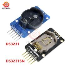 DS3231SN DS3231 AT24C3 I2C IIC Clock модуль прецизионной памяти DS3231 Модуль реального времени 3,3-5,5 В для Arduino Raspberry Pi