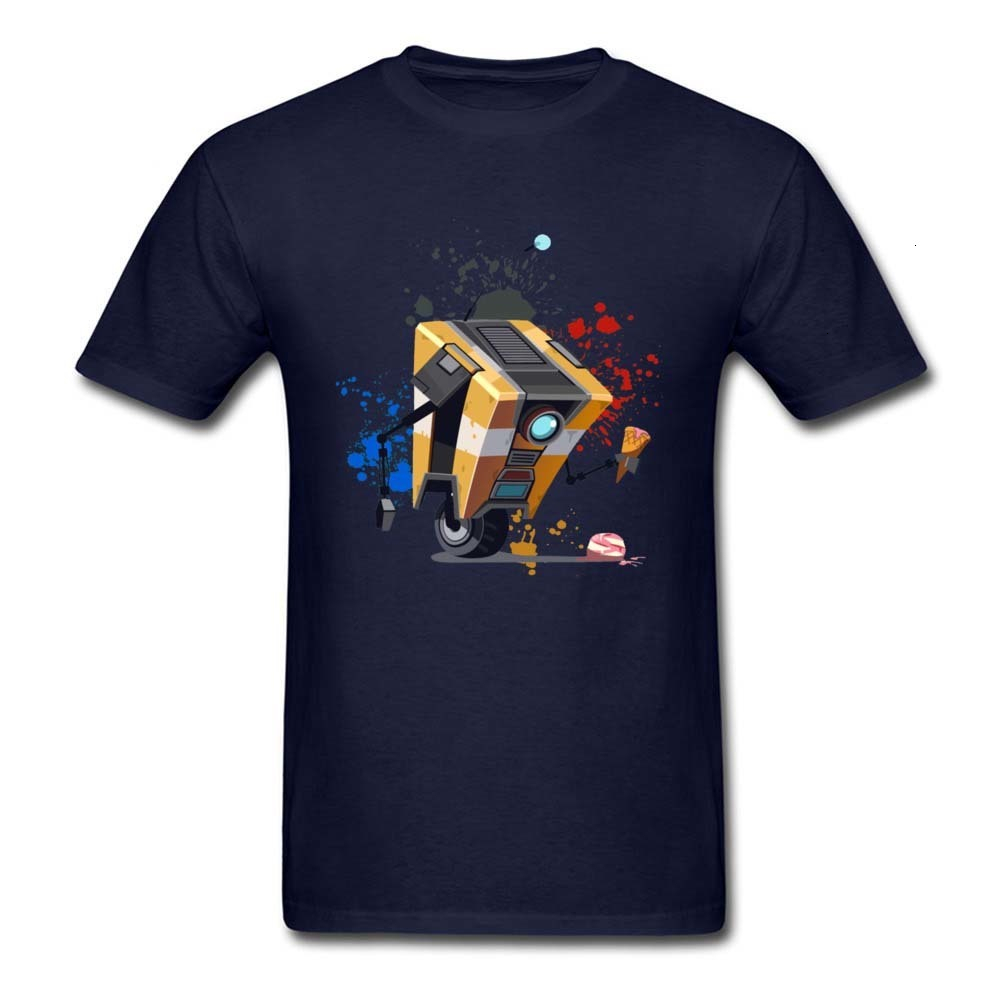 one yona Game of Thrones Starwars Borderlands Claptrap Machine T Shirt Mens Fashion Graphic Avengers Endgame Robot Tshirt image