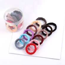 10pc Available High Elasticity Fashion Headband Solid Color Towel Ring Seamless Hair rope Convenient Accessories