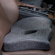 Car Cushion Car Seat Back Support Back and Coccyx Cushion Memory Foam Anti slip Universal Comfortable for Low Back Pain Driver