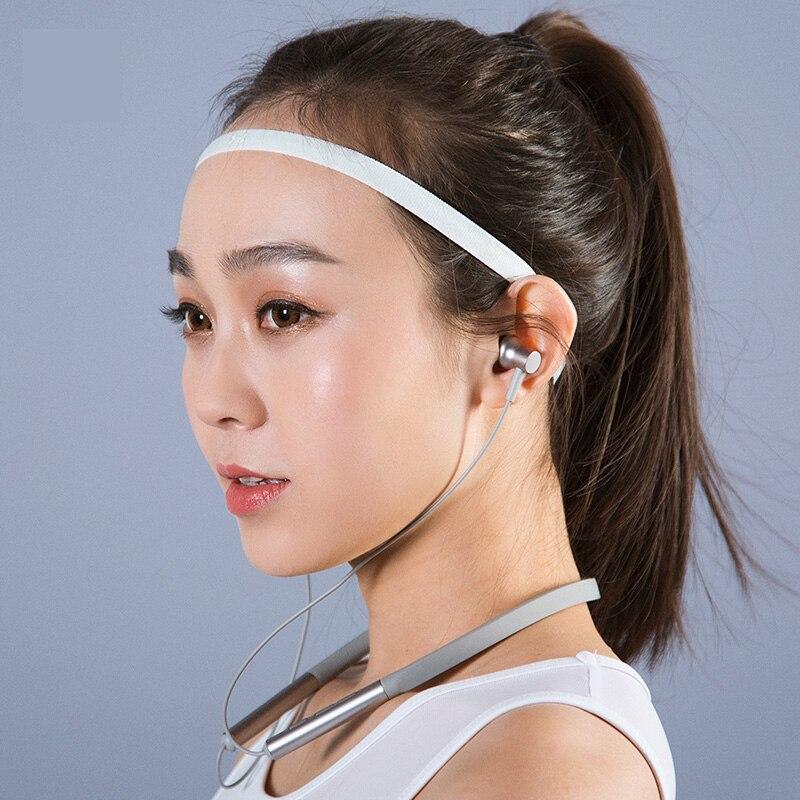 Xiao Mi Mi Bluetooth Collare Auricolare Magnetica con Mi C Senza Fili Sport Hybrid Dual Driver per La Cura Della Pelle di Luce per Il Tempo Libero di Bluetooth 4.1 - 5