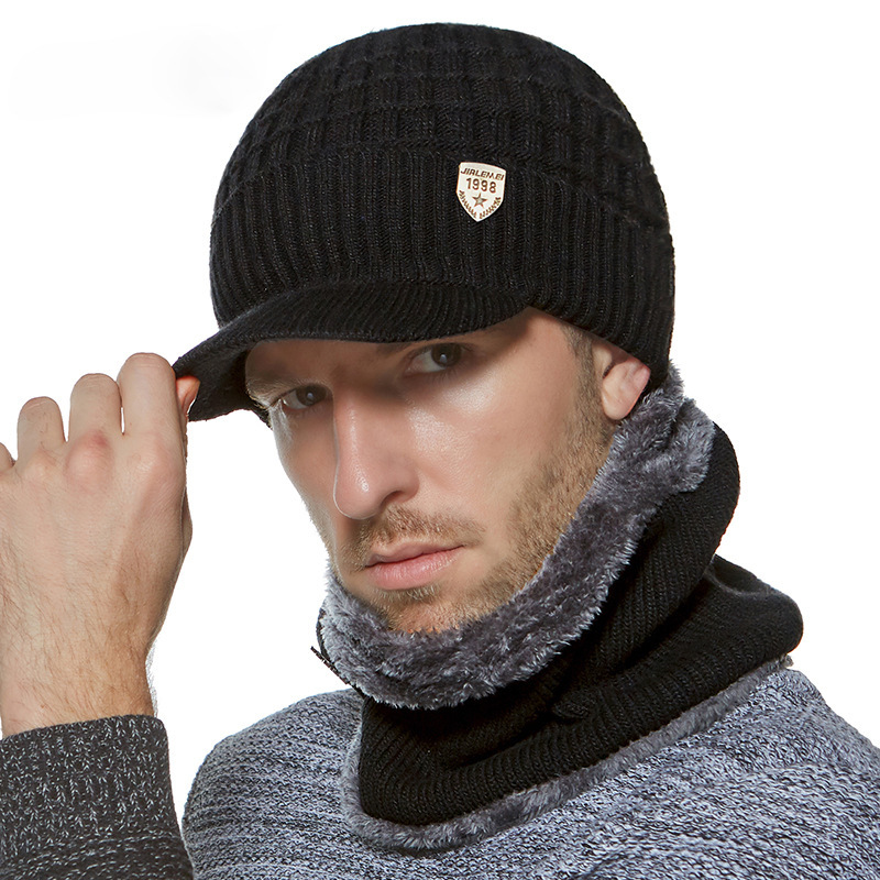 Simpe Winter Hat   Skullies     Beanies   Hats Winter   Beanies   For Men Women Wool Scarf Caps Balaclava Mask Gorras Bonnet Knitted Hat