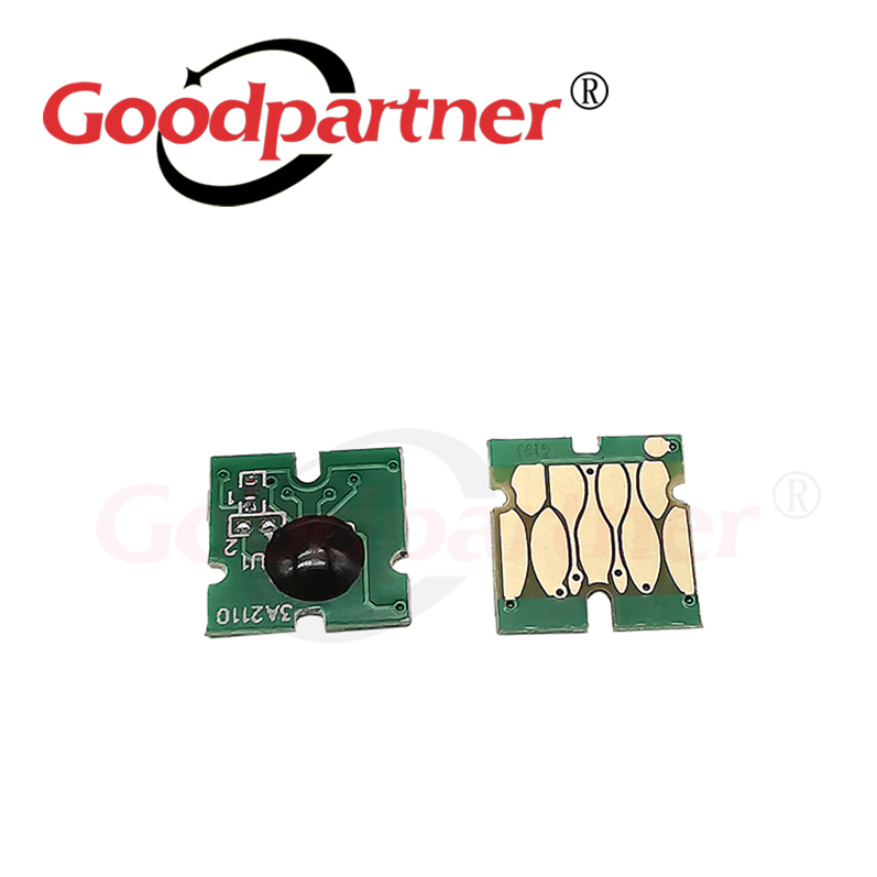 2X T6193 Maintenance Tank Chip for <font><b>EPSON</b></font> T3000 T5000 <font><b>T7000</b></font> T3070 T5070 T7070 T3270 T5270 T7270 P20000 P10000 F6000 T3050 T5050 image