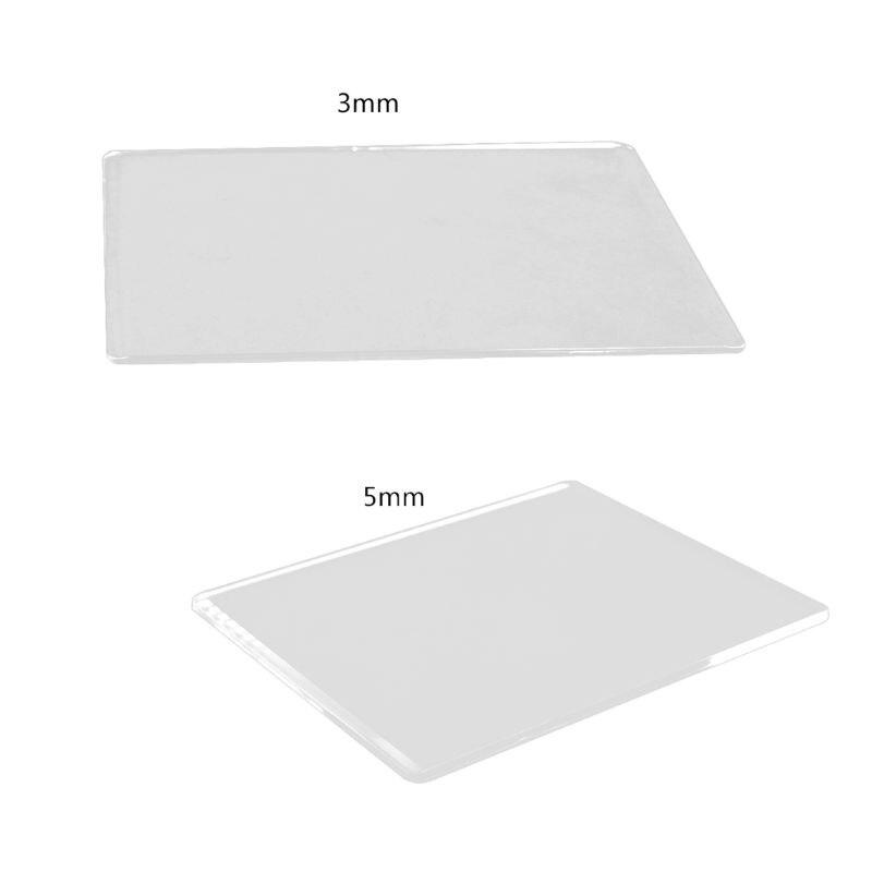 DIY Скрапбукинг высечки пластина для машины 3 мм/5 мм высечки тиснение пластина для машины замена колодки