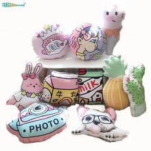 40 см моющаяся популярная плюшевая игрушка-подушка с милым мультипликационным рисунком супер мягкая игрушка подарок на день рождения Рождество для маленьких девочек Рождество детей