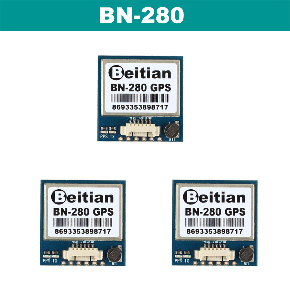 BEITIAN G-MOUSE UART TTL level GPS GLONASS Dual GNSS module with 4M FLASH <font><b>BN</b></font>-<font><b>280</b></font> image