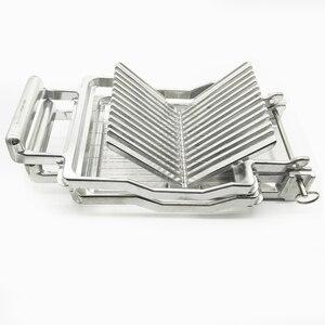 Image 1 - Commercial เครื่องตัดชีสสแตนเลส 1 ซม.2 ซม.ใบมีดลวดขนมใบมีดทนทานทำอาหาร Baking New Butter เครื่องตัด
