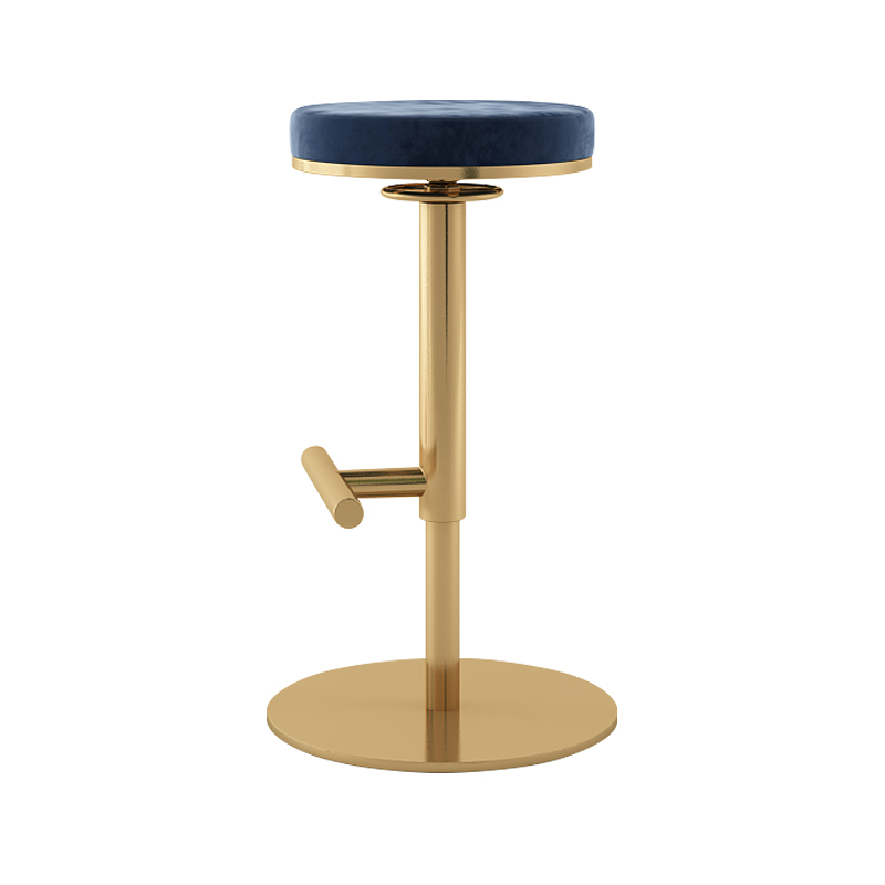 Northern Europe Simple Ins Bar Chair Ins Light Luxury Household Lifting Rotating Chair Modern Bar Front Desk Stool