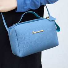 Bag Female 2020 New Trend Lady Shoulder Pu Autumn and Winter in Europe and America Ladies Bags li zhi wen Small Women's Bags li wen envy 200g