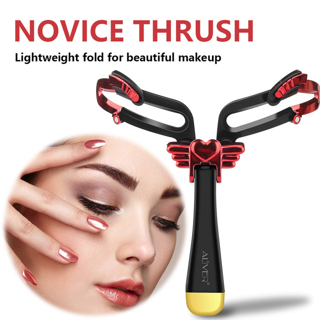 Drawing Handheld Tool Adjustable Eyebrow Shapes Stencil Portable Folding Stereo Home For Beginners 3 In 1 DIY Makeup Model Girl