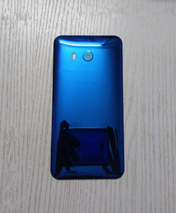 Image 3 - U 11 חזרה כיסוי עבור HTC U11 5.5 אינץ מקורי שיכון זכוכית אחורי דלת תיקון החלפת סוללה מקרה