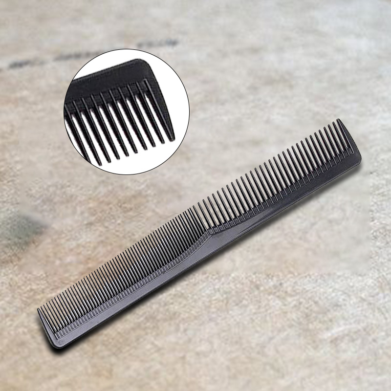 New Women Men Home Salon Cutting Hair Tooth Comb Barber Hairdressing Pocket