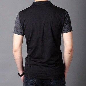 Image 5 - JANPA סגנון 2019 מותג מקרית פולו חולצות קצר שרוול גברים קיץ כותנה לנשימה חולצות טי אסיה גודל M 5XL 6XL