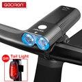 GACIRON 400 ~ 1800 LM Fahrrad Licht PRO Bike Scheinwerfer Mit rücklicht USB Power Bank IPX6 Taschenlampe MTB Rennrad LED Blitz Lampe-in Fahrradlicht aus Sport und Unterhaltung bei