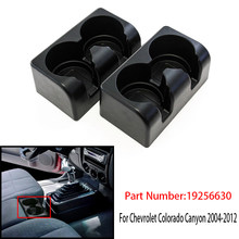 Car Bench Seat Cup Holder Insert Drink Fits for Chevrolet Colorado Canyon 2004-2012 19256630