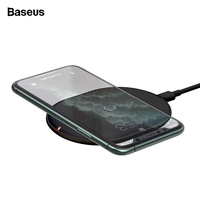 Baseus 15W Qi Wireless Charger for iPhone 11 Pro X XS MAX XR 8 Plus Fast Charging for Airpods Pro Samsung S9 S10 Huawei P30 Pro|Mobile Phone Chargers| |  -