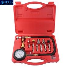 TU 15A de herramientas automotrices, Kit de probador de compresión de motor diésel, medidor de presión de motor 0 ~ 1000psi