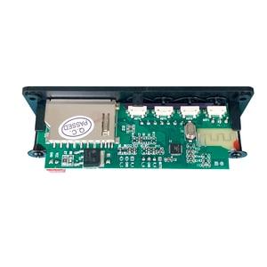 Image 5 - Wireless Bluetooth 5V 12V MP3 Decoder Board MP3 Audio Player Module Support USB SD AUX FM Audio Radio Module For Car accessories