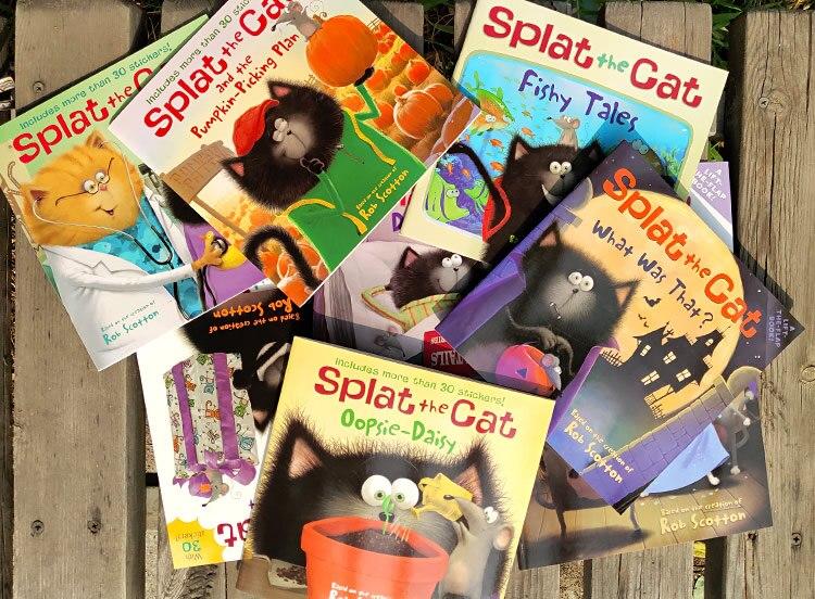 12 livros conjunto splat o gato engraçado