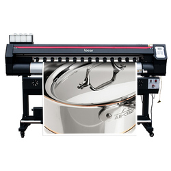 Plotter Eco Solvente Dx5 Locor EasyJet Dx7 Digital Roll Printer Mesin 1.6 Meter Xp600 Format Lebar Poster Mesin Cetak