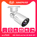 Anpviz Nuovo HD POE IP Camera Indoor/Outdoor 5MP Proiettile Secuirty Telecamere Pan/Tilt/Zoom 4x Ottico zoom built-in Audio Onvif NVR