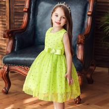 Green pink black Kids Cocktail party Dresses Girls Princess dress baby girl flower wedding dress for Birthday 8 10M 1 2 3 4 5 6T summer flower girl dresses wedding party kids birthday princess dress for girls infant children clothing girl baby clothes 2 8 y