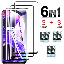 Tempere Glass For OPPO Realme 8 Pro Glass Screen Protector Tempered Glass on Realme 8 Pro Glass for OPPO Realme 8 Pro 7 Pro 6