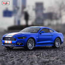 Maisto 1:24 Ford Mustang GT Roadster simulation alloy car model decoration collection gift toy