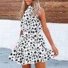 Summer Boho Floral Print Dress 3