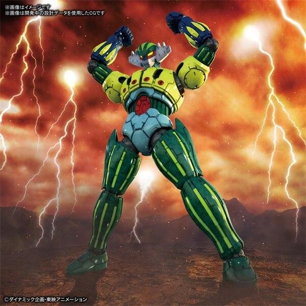Bandai HG 1/144 Steel God Jack Steel Jike JEEG Flying Diamond Assembled Hand-made Spot