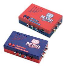 Retrosc100 محول A/V ، 2x 480p60 ، إشارة لعبة فيديو ريترو ، توصيل مباشر
