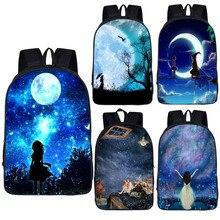 Sac à dos décole galaxie, univers ou licorne, sacs décole pour filles, sacs décole étoilés, sac décole pour enfants