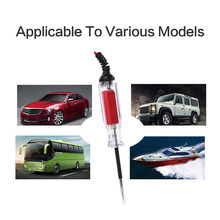 Hot sale 3-48v Special Electric Pen for Automobile Yacht With Digital Display LCD Backlight Battery Voltage Tester 220 * 26mm(China)