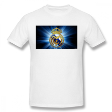 Real Madrid 2019 Live Mens Basic Short Sleeve T-Shirt 3D Print t shirt Cotton Funny 100% T-shirt home Top Tees