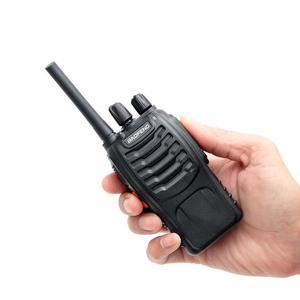 Image 2 - 4PCS BF 88E PMR Baofeng 446 Walkie Talkie 0.5 W UHF 446 MHz 16 CH Presunto Handheld Two way rádio com Carregador USB DA UE para O Usuário