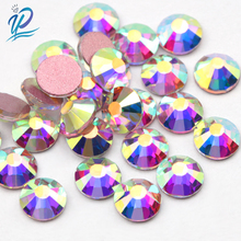 Upriver SS3-SS30 Rose Gold Bottom Crystal AB Rhinestones Glass Strass Nail Art Stone Flatback Strass Non-Hotfix Rhinestone 1300pcs glitter rhinestones crystal ab non hotfix flatback nail rhinestones strass gem nail art decoration