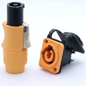 Image 5 - 4set Impermeabile Powercon Connettore 20a 250V 3 Spilli, NAC3FCA e NAC3MPA 1, di alimentazione Maschio Spina di Alimentazione + Femmina Chassis Socket Connettore