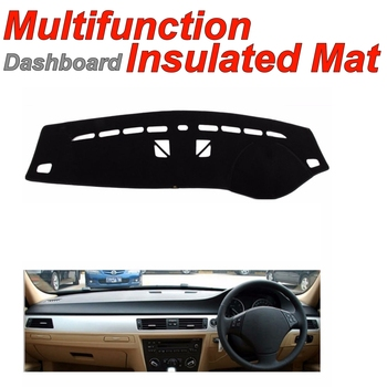 Dashboard Mat Insulated Original Factory Shape pad Protection Cover Carpet Dashmat For BMW 3 M3 E90 E91 E92 E93 without Monitor image
