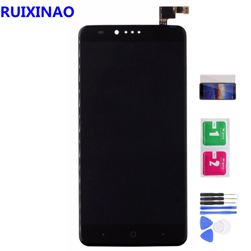 6 Inch LCD For ZTE ZMax Pro Z981 1920x1080 Lcd Display+Touch Glass Digitizer Assembly Replacement Parts|Mobile Phone LCD Screens|   - title=